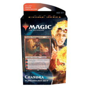 Magic the Gathering: Core Set 2021 Chandra Planeswalker Deck