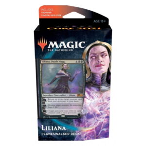 Magic the Gathering: Core Set 2021 Liliana Planeswalker Deck