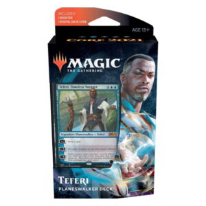 Magic the Gathering: Core Set 2021 Teferi Planeswalker Deck