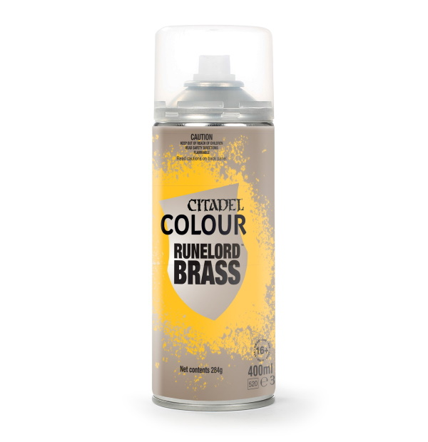 Runelord Brass Spray Paint