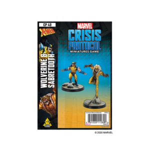 Marvel Crisis Protocol: Wolverine and Sabretooth