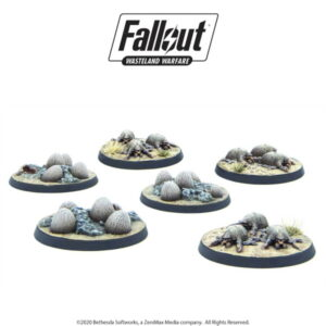 Fallout: Wasteland Warfare - Creatures: Mirelurk Hatchlings + Eggs
