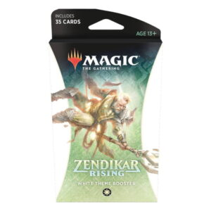 Magic the Gathering: Zendikar Rising White Themed Booster
