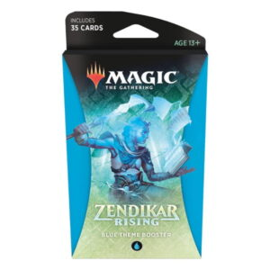 Magic the Gathering: Zendikar Rising Blue Themed Booster
