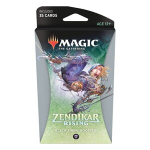 Magic the Gathering: Zendikar Rising Black Themed Booster