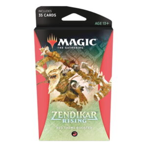 Magic the Gathering: Zendikar Rising Red Themed Booster