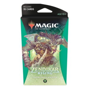 Magic the Gathering: Zendikar Rising Green Themed Booster