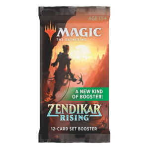 Magic the Gathering: Zendikar Rising Set Booster