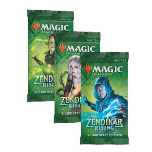 Magic the Gathering: Zendikar Rising Draft Booster