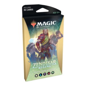 Magic the Gathering: Zendikar Rising Party Theme Booster