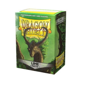 Dragon Shield Matte Sleeves Lime 100