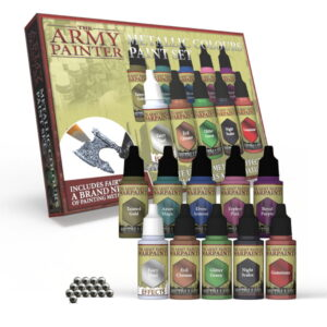 Warpaints Metallic Colours Paint Set