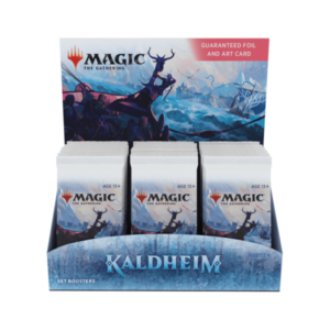 Magic the Gathering: Kaldheim Set Booster Box
