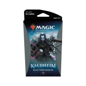 Magic the Gathering: Kaldheim Black Themed Booster