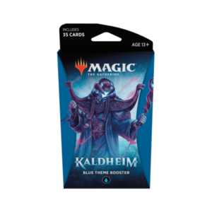 Magic the Gathering: Kaldheim Blue Themed Booster