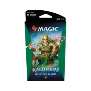 Magic the Gathering: Kaldheim Green Themed Booster